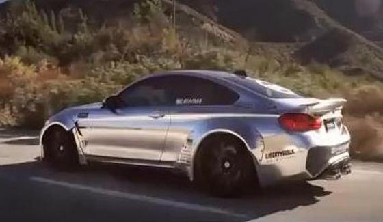 BMW M4 po kuracji w Liberty Walk