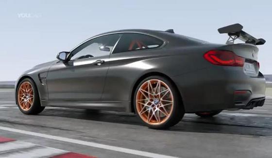 BMW M4 GTS - prezentacja nap�du