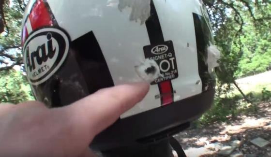 Czy motocyklowe kaski s� kuloodporne?